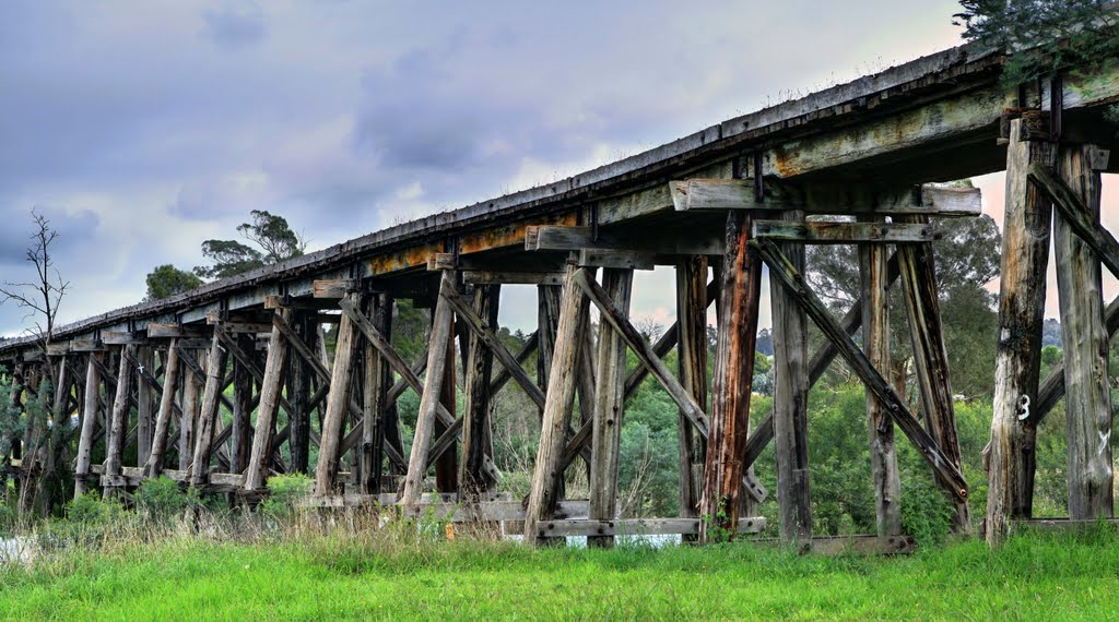 Historic Railway Bridge - Bruthen