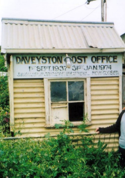Daveyston Post Office est. 1937