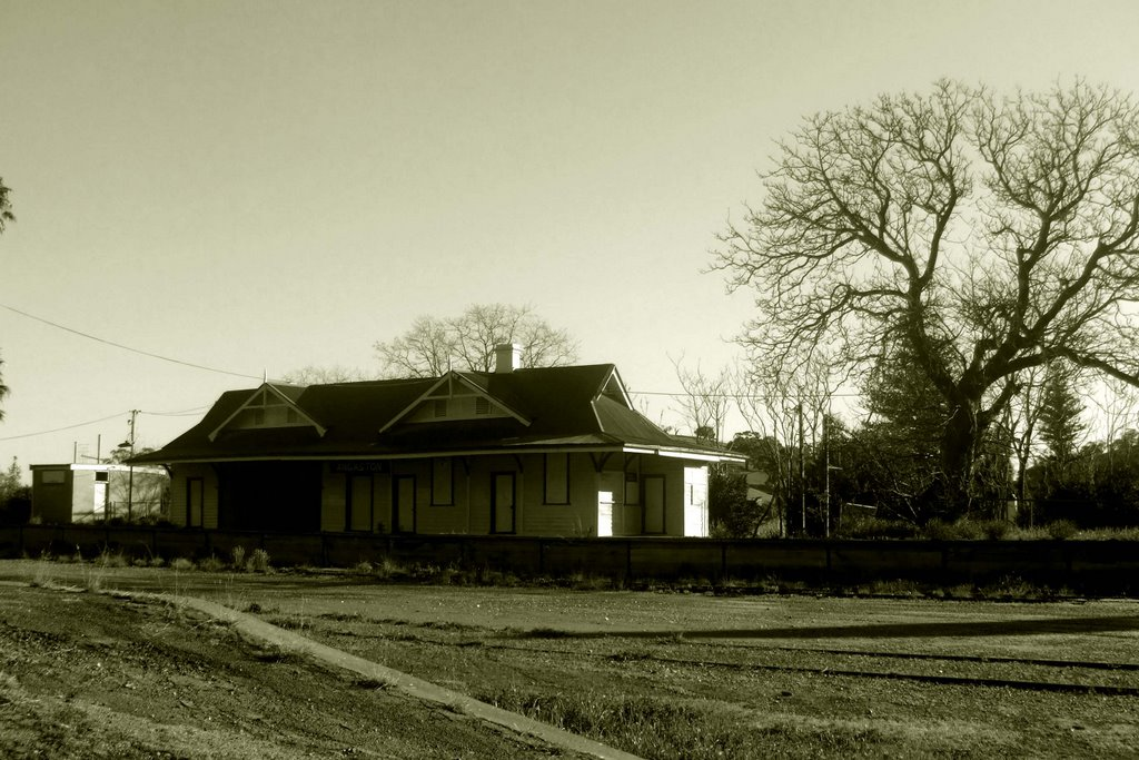Disused Railway Station, Angaston, South Australia