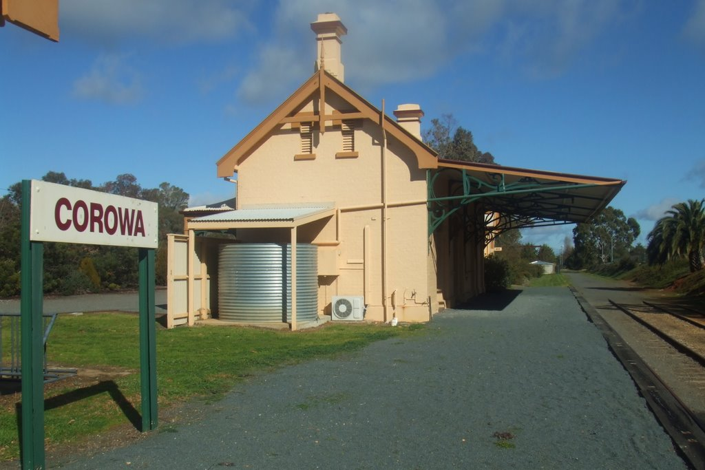 Railway Station - Corowa, NSW