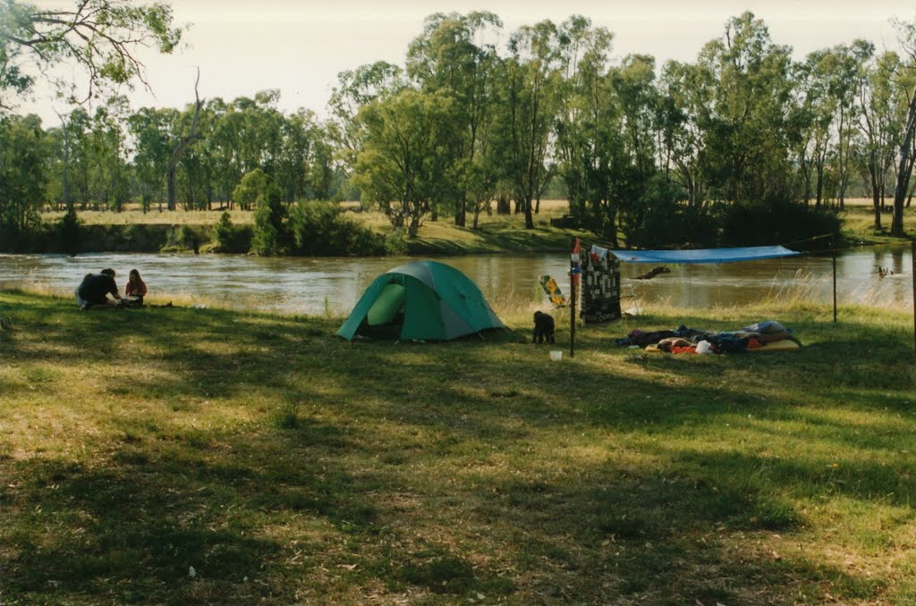 Campsite at Oura