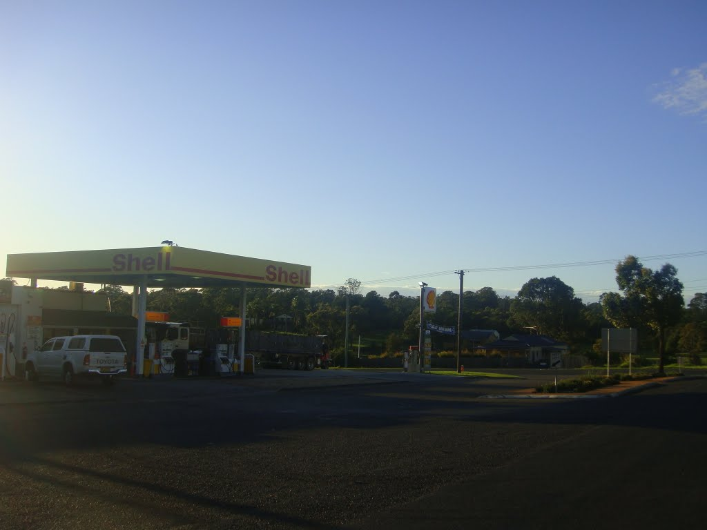 Shell Service Station Witton NSW
