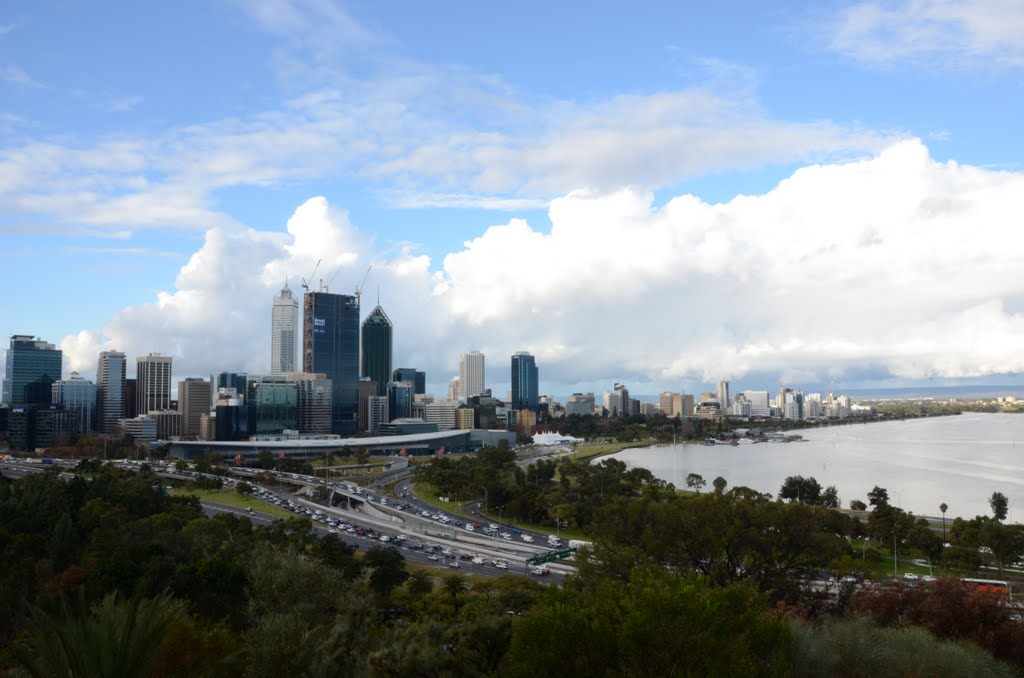Perth from Kings Park..