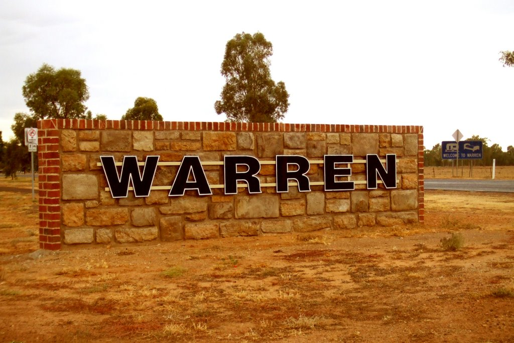 Welcome Sign - Warren, NSW