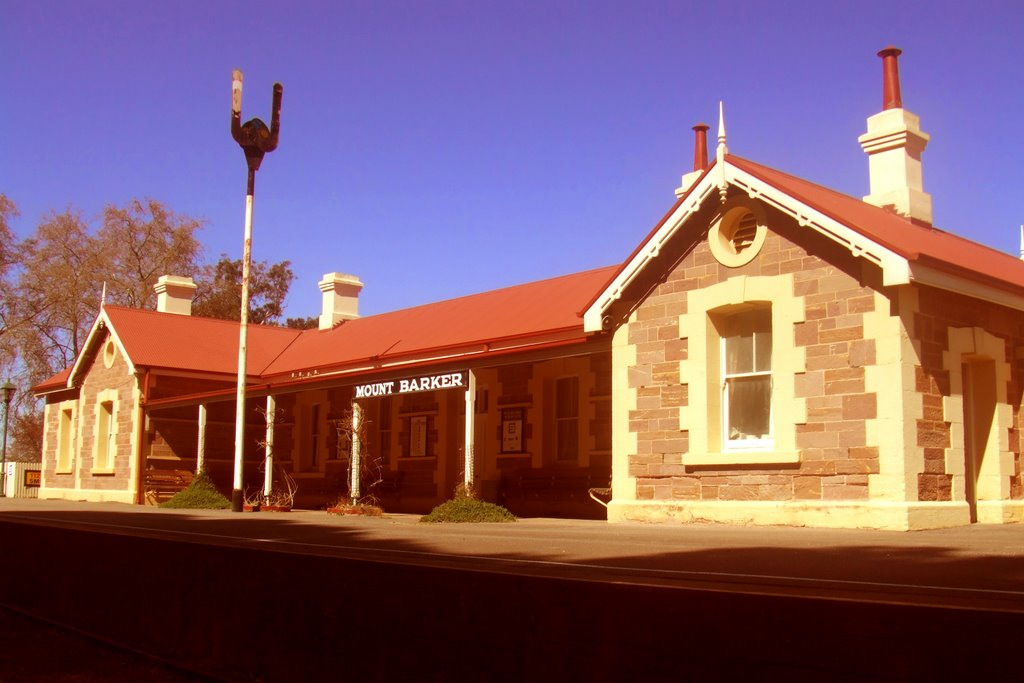 Railway Station - Mount Barker, South Australia