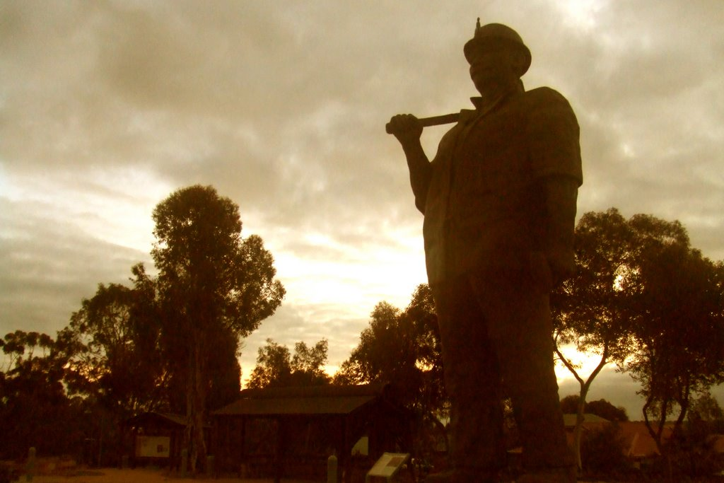 Cornish Miner - Kapunda, South Australia