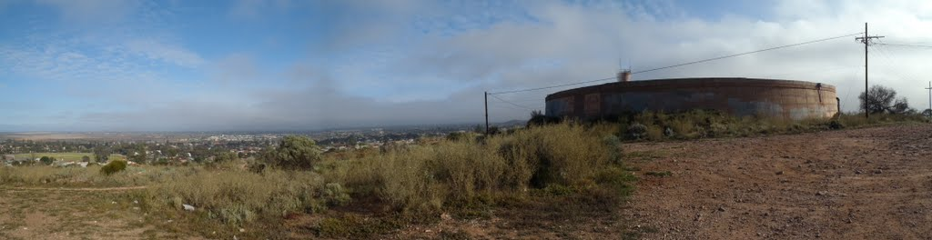 Panoramic from tank hill 1  Whyalla