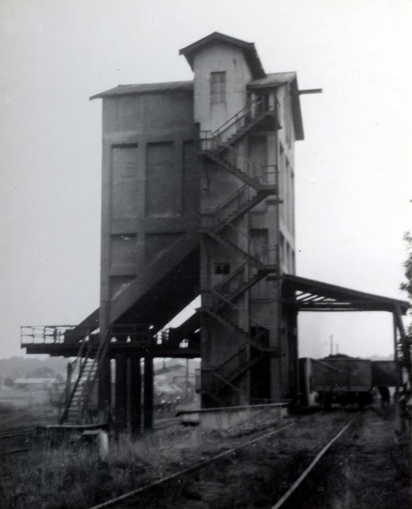 The coal stage at Ararat in 1964