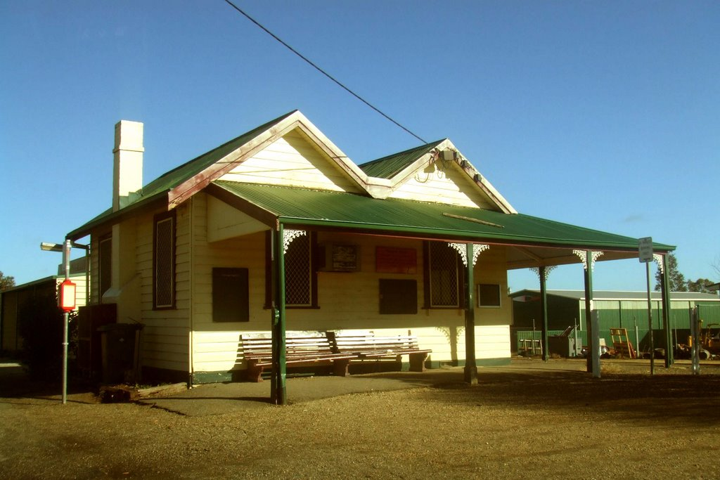 Railway Station - Cobram, Victoria