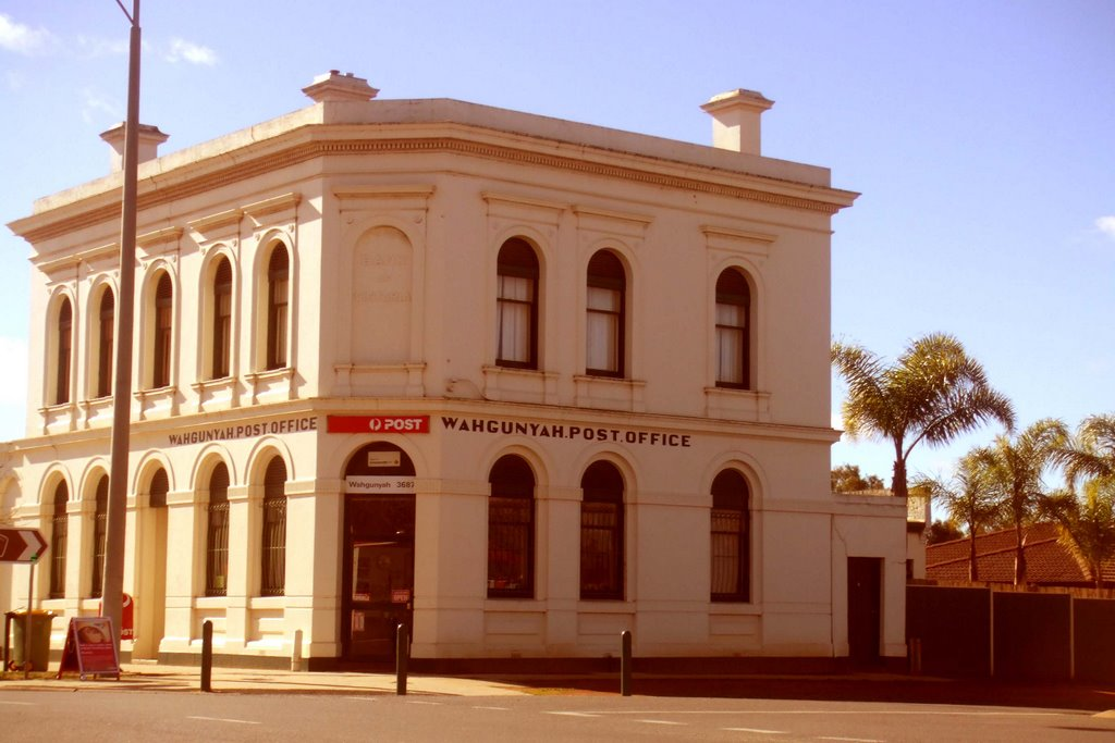 Post Office - Wahgunyah, Victoria
