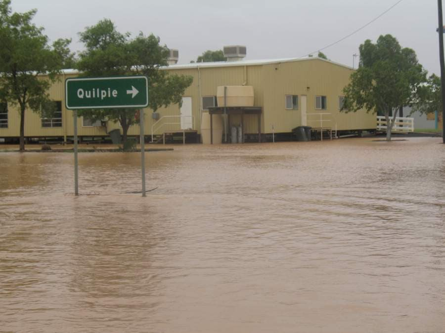 2010 Floods Eromanga Hall
