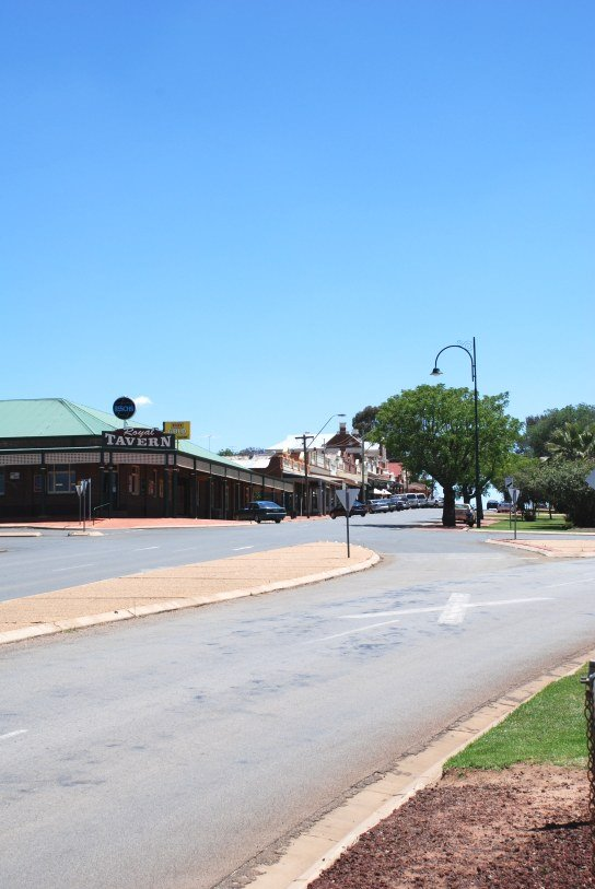 Coolamon Main Street West side