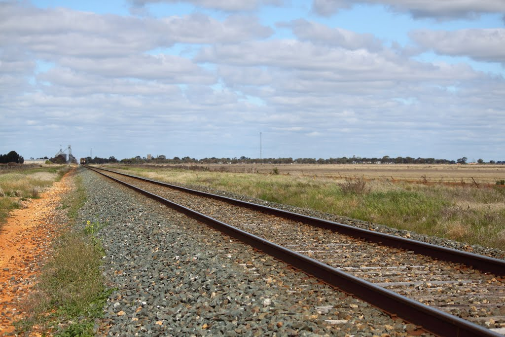 Vline slowing for Pyramid Hill (SHill to Melb Service)