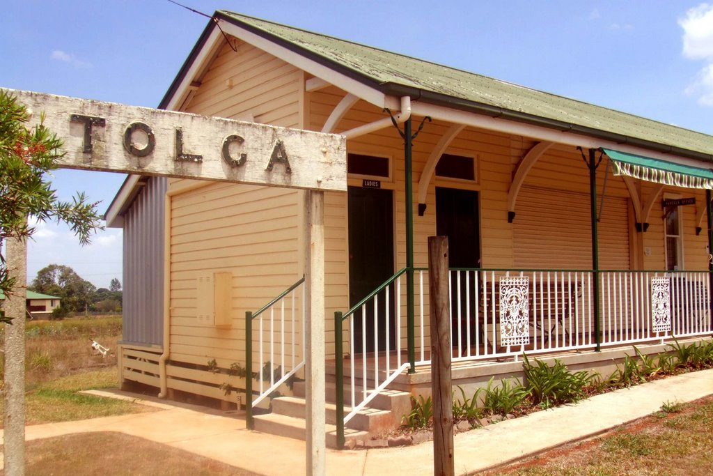 Tolga Rail Museum - Tolga, North Qld