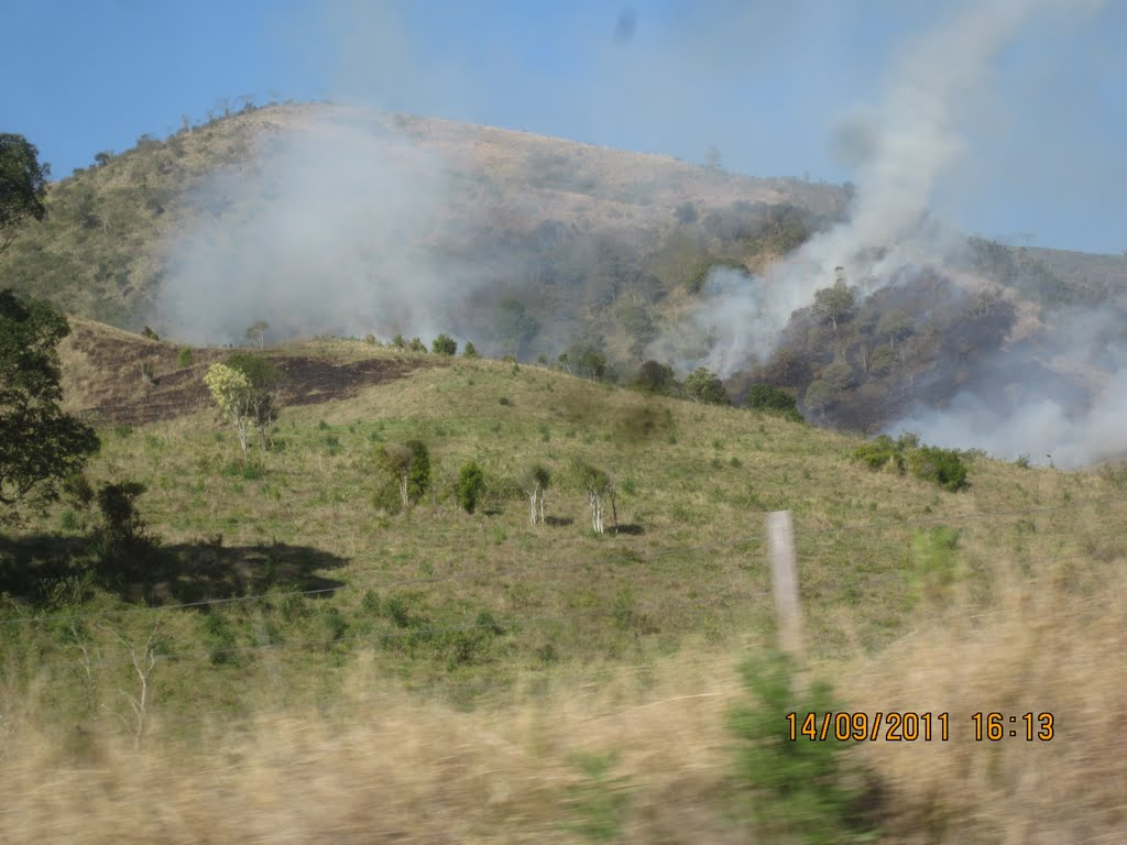 Grass Fires at Rathdowney