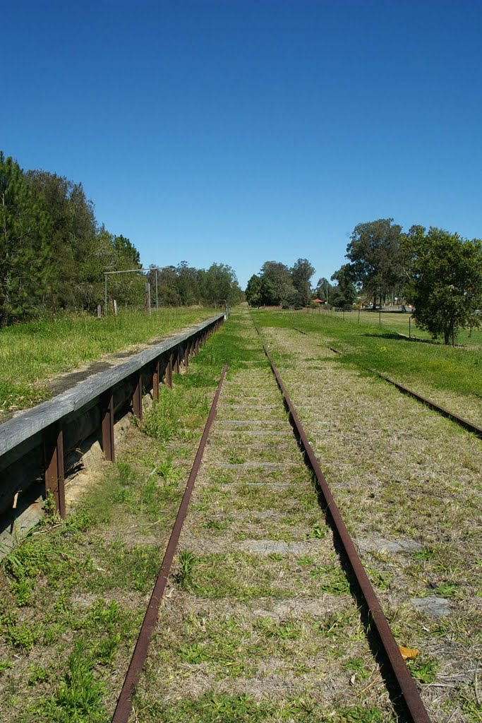 Disused railway line Logan Village