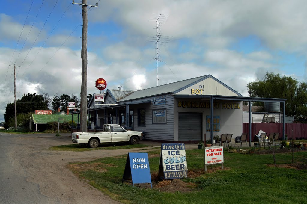 Burrumbeet Hotel (2011). At the 2006 census, Burrumbeet and the surrounding area had a population of 158