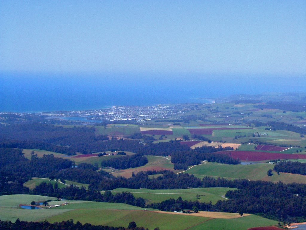 Ulverstone seen from top of Mt. Duncan ......    45