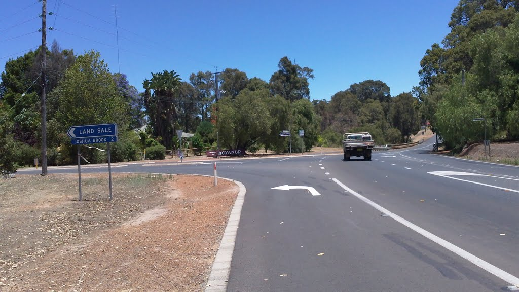 Junction of Boyanup-Piction Road and Hurst Road