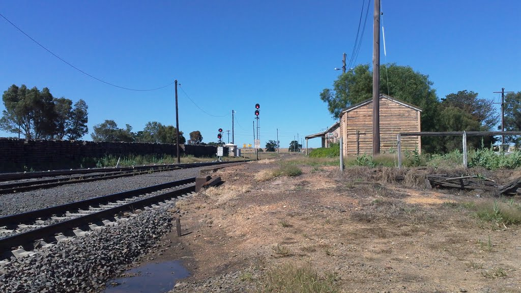 Old Maroona Station (heading south)