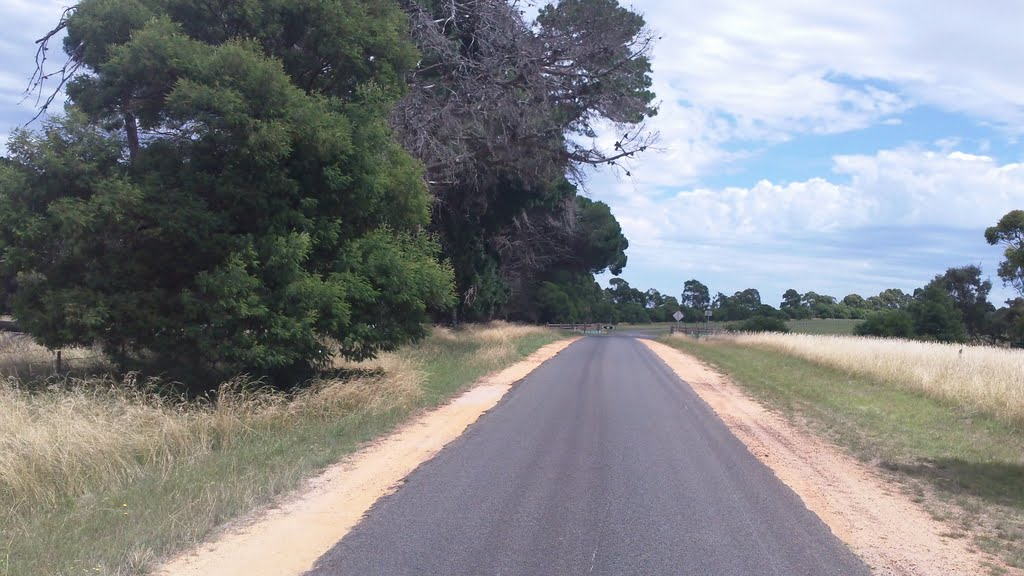 Leaving Inverleigh Nature Conservation Reserve