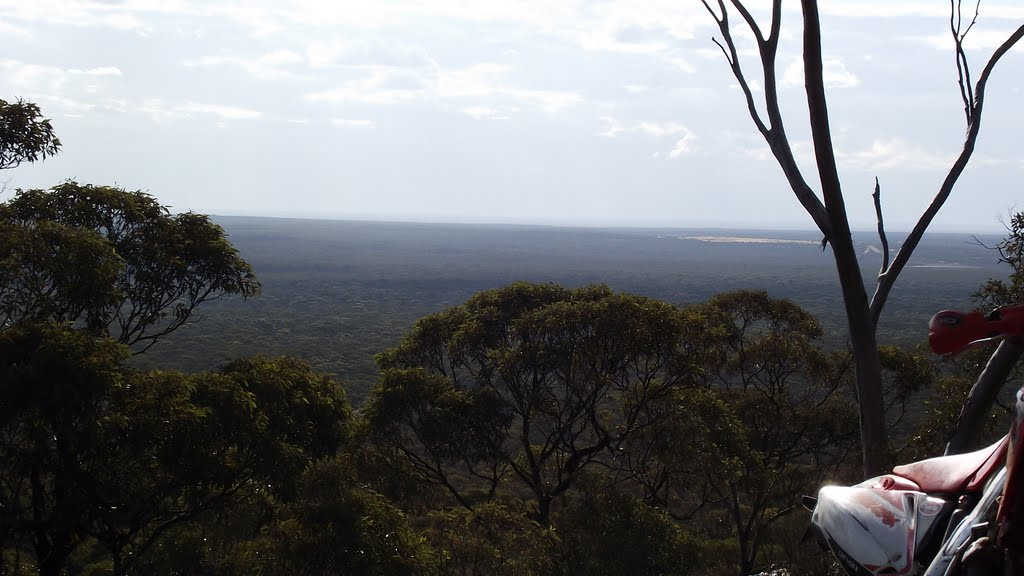 View north from Mt Burges
