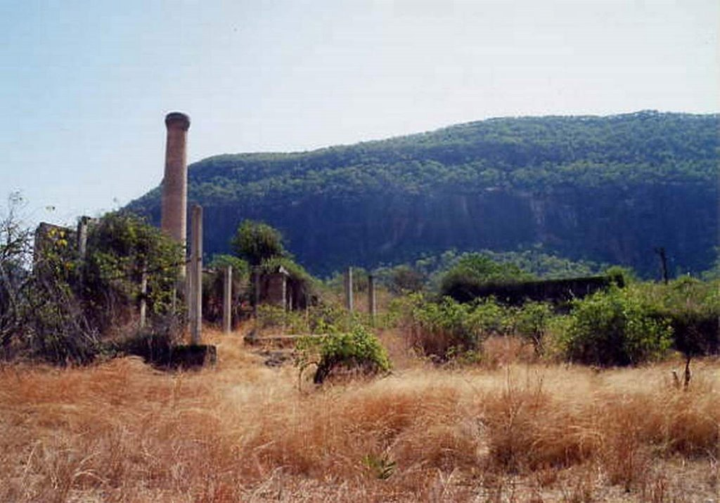 Ruins at Mount Mulligan