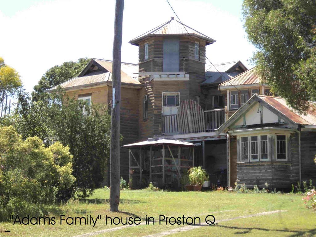 """Adams family"" House in Proston"