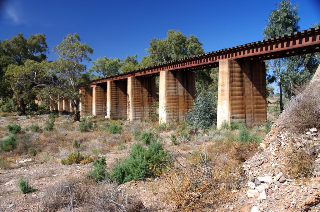 Railway Bridge near Leigh Creek