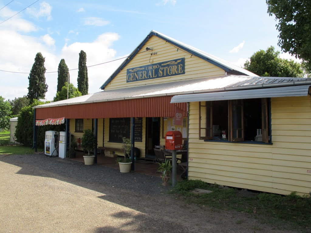 Ubobo ,Queensland , Australia ,General Store, 19-10-2011.