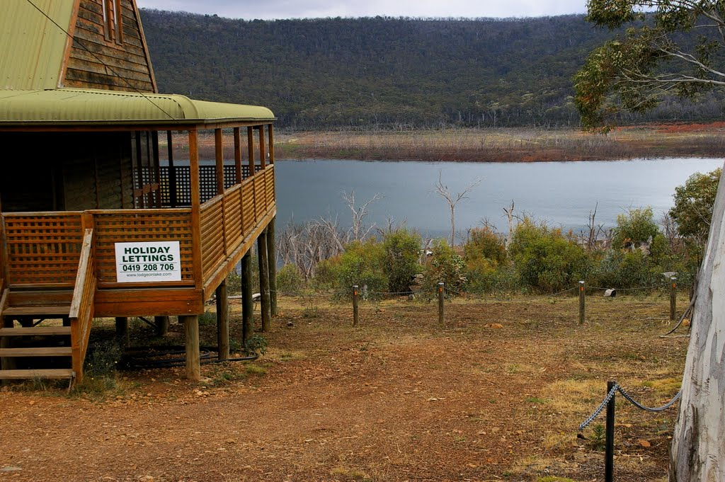 Anglers Reach on Lake Eucumbene