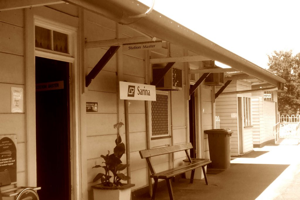 Railway Station - Sarina, Qld