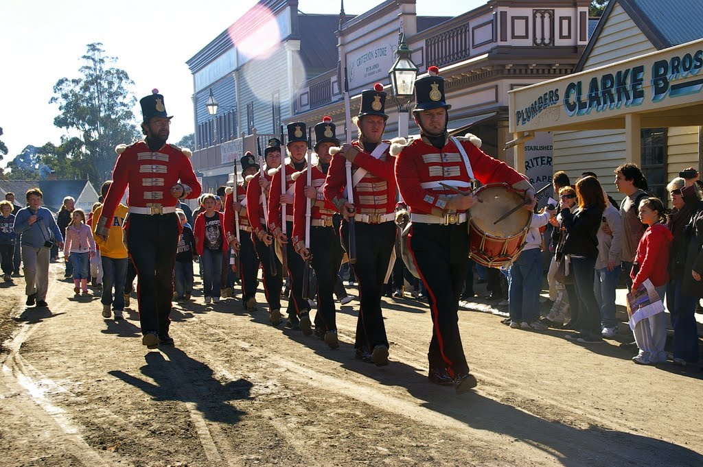 The Red Coats are coming: Ballarat