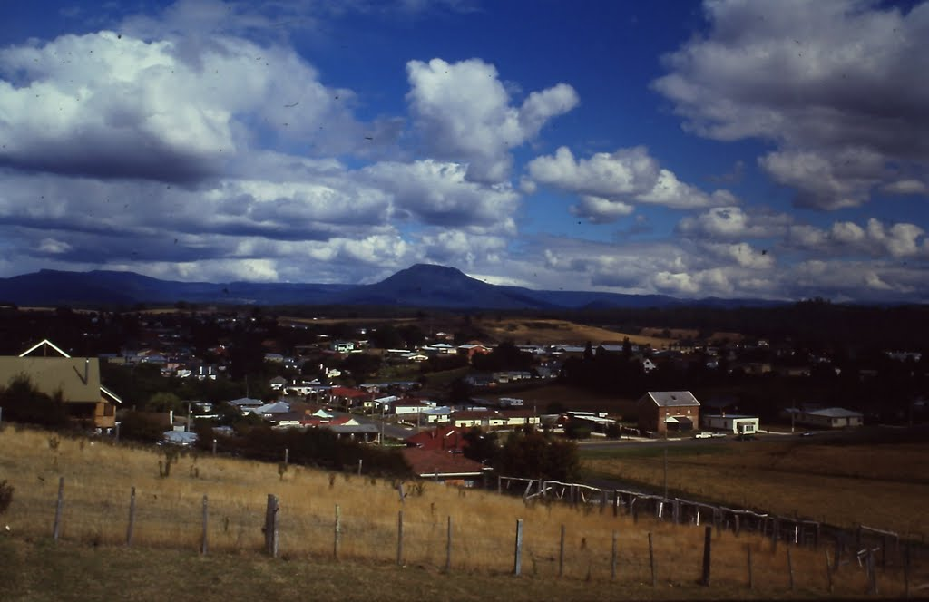 View to Quamby Bluff from Deloraine