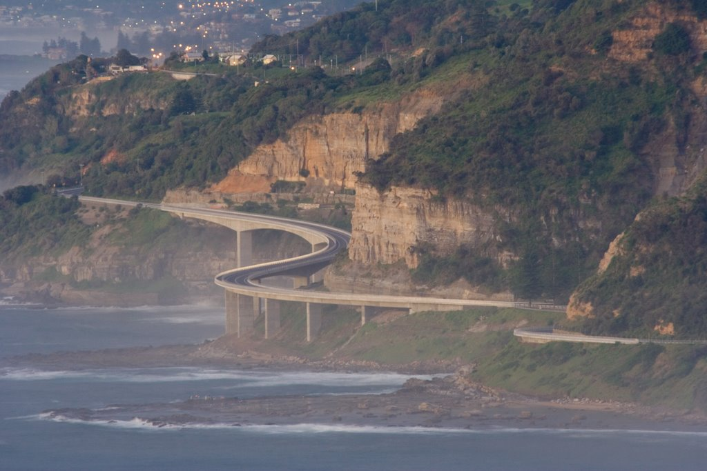 Seacliff Bridge From Stanwell Tops
