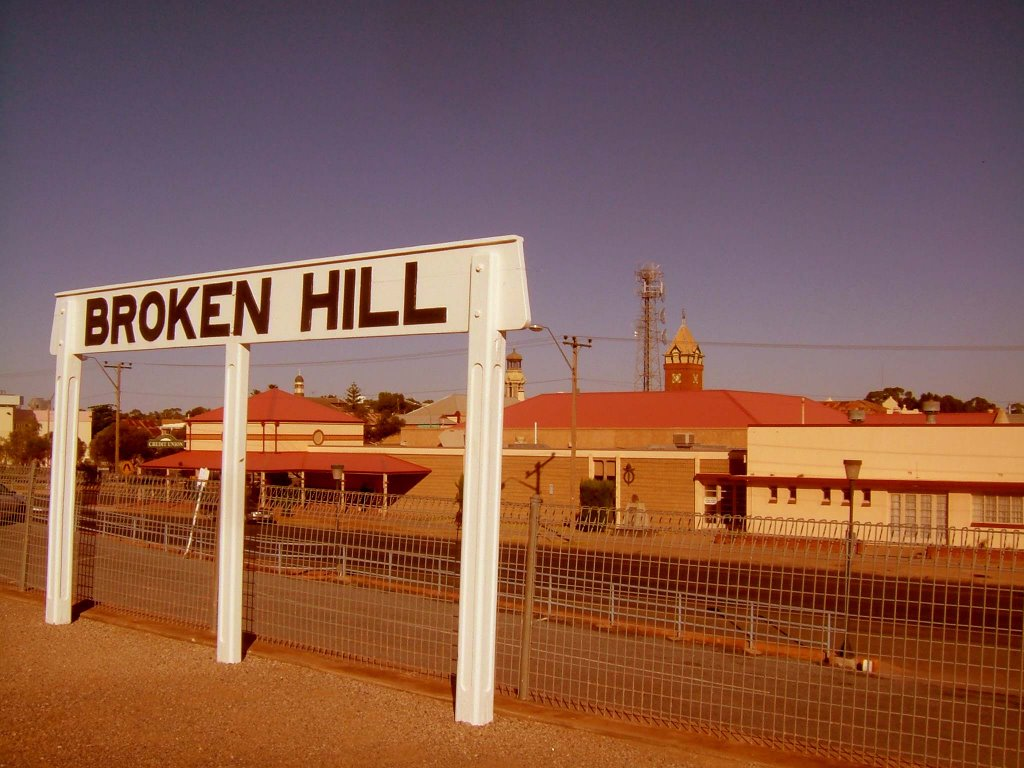 Railway Station - Broken Hill, NSW