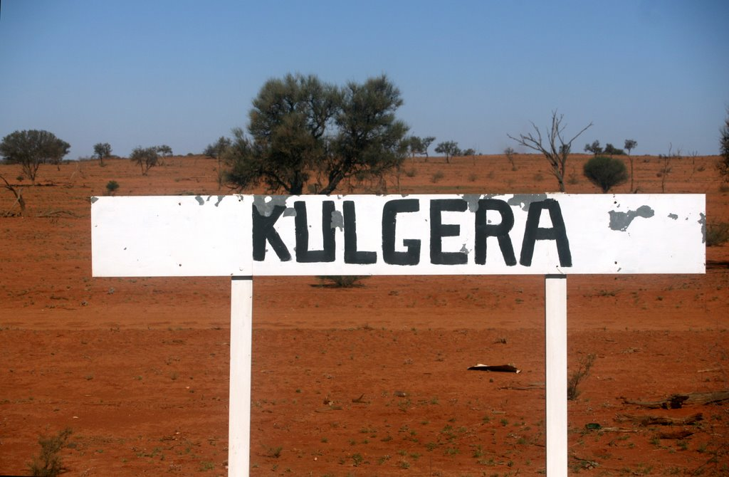 Kulgera train station from The Ghan