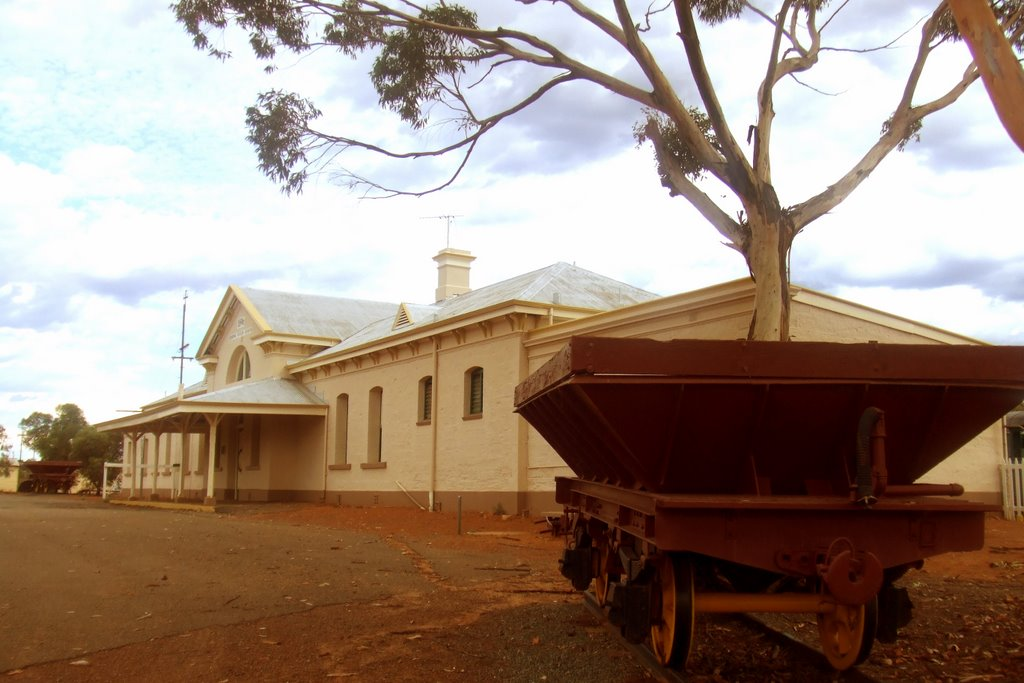Rail Station - Coolgardie, WA