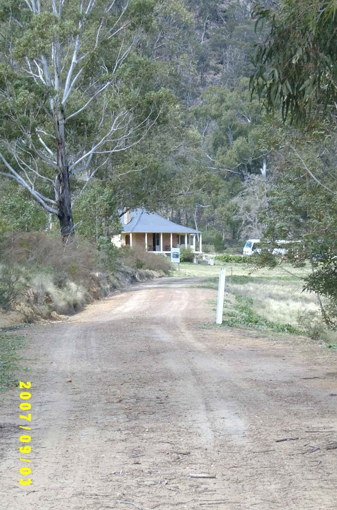 Caretakers cottage, Joadja, NSW