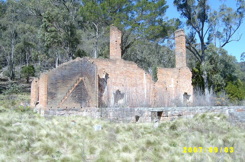 Ruins at Joadja, NSW, Australia