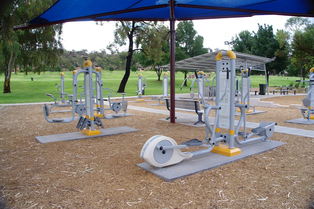 An outside Gym, courtesy of Griffith City Council