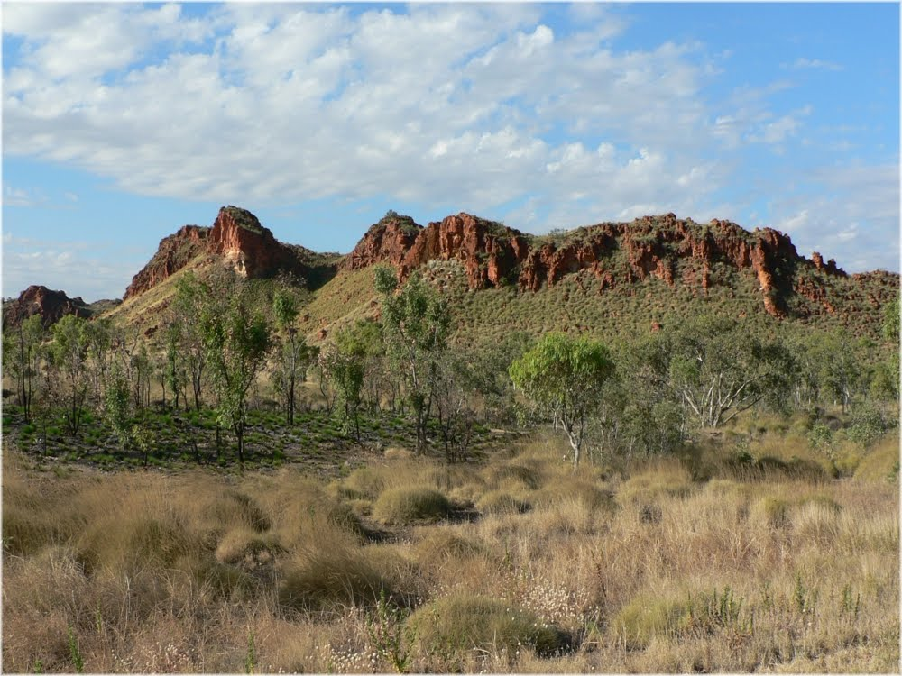 Range near Camballin, east of Fitzroy Crossing, West Australia
