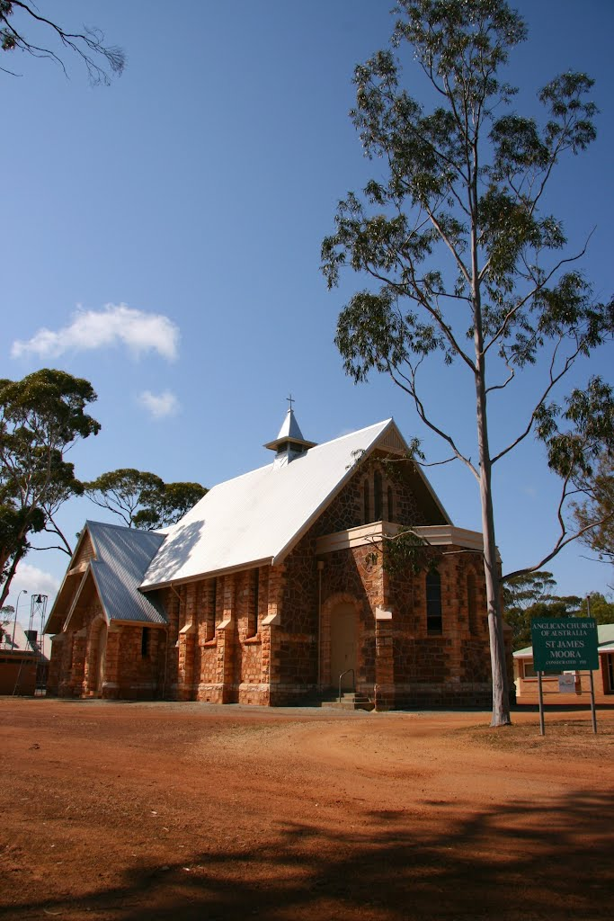 St James Anglican Church, Moora.