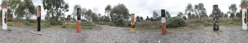 Wiradjuri Garden, Fivebough Wetlands- Western Riverina Arts Cultural Trail
