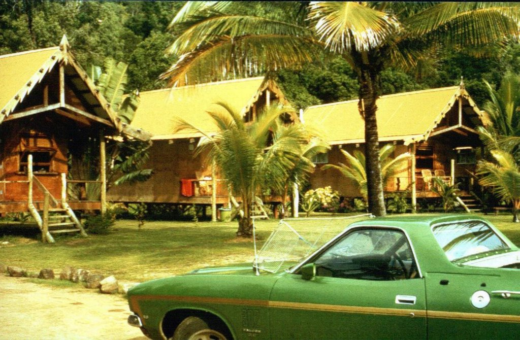 "Australia - Queensland - Whitsunday Group - Airlie Beach - ""The Old Village"" - 1980"