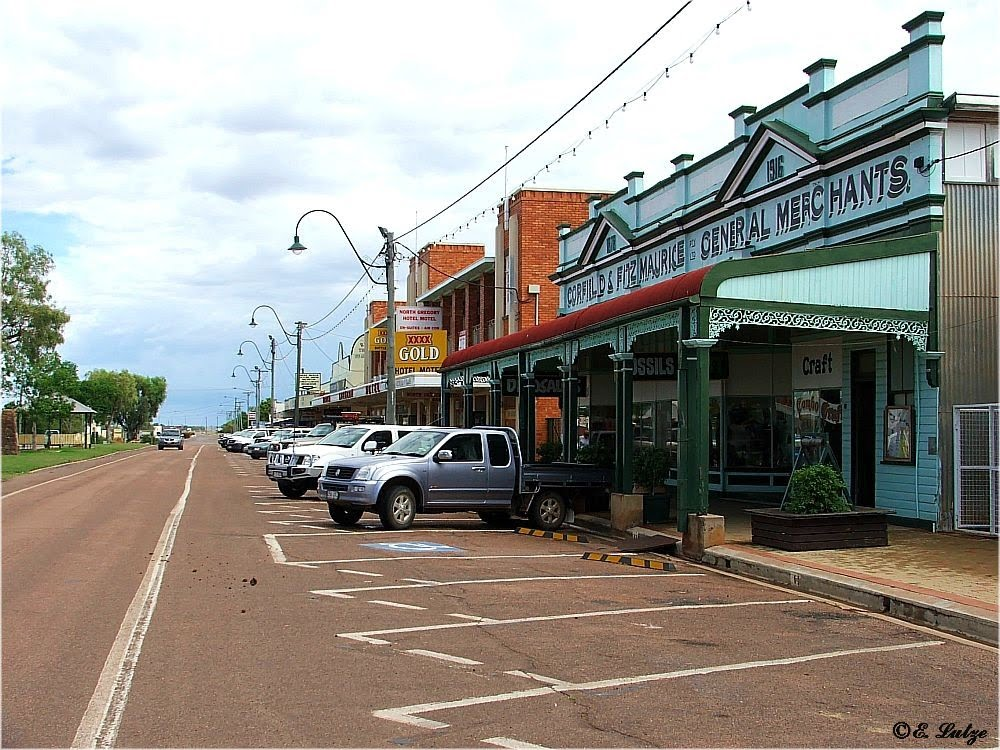 Winton  Main Street *** Queensland