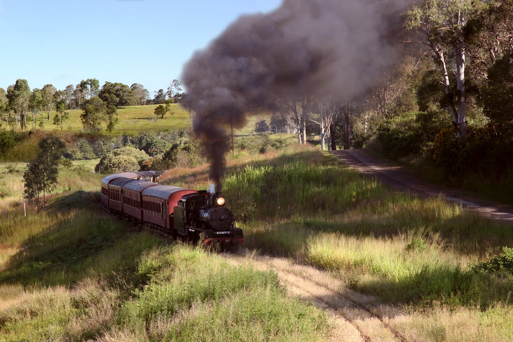 Mary Valley Heritage Railway: Winding through the Valley