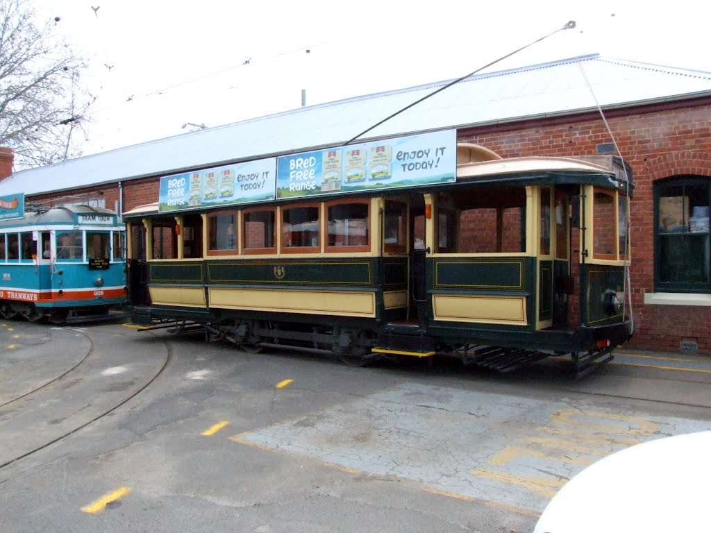 Historic Trams, Bendigo Tram Depot, 1 Tramways Road, Bendigo, Victoria
