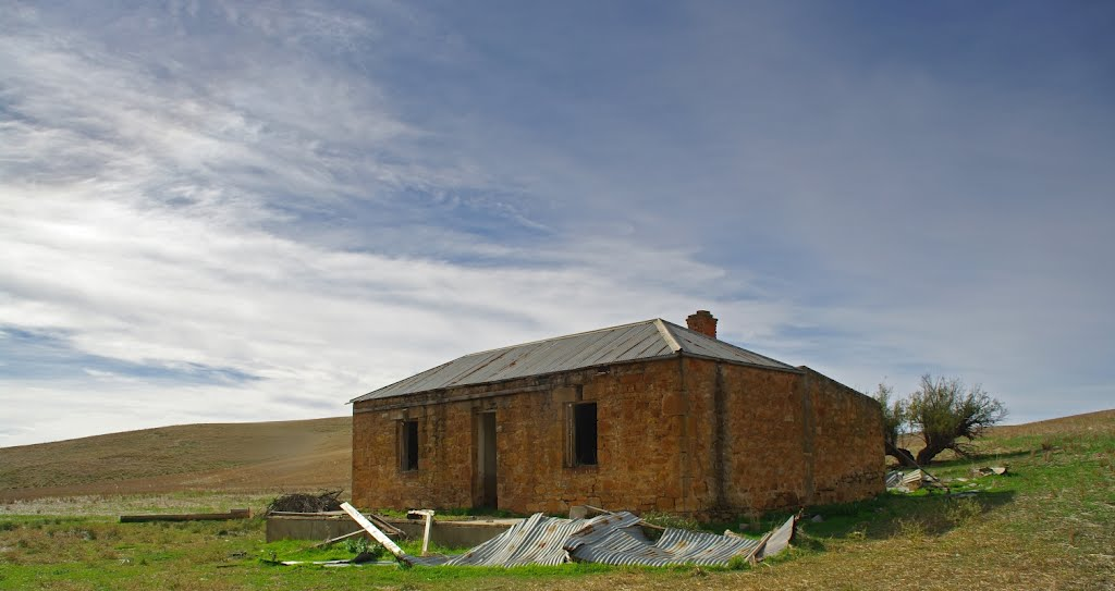 Abandoned Farmhouse, Main North Road, Wongyarra, 29 April 2012