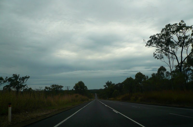 Straight ahead for the next 773 km...